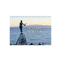 Zauberhaftes Opatija (Tischkalender 2021 DIN A5 quer)