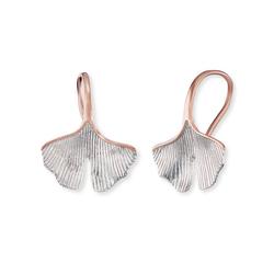 Engelsrufer Paar Ohrhänger Engelsrufer Ohrhänger ERE-GINKGO-BIR Rosé vergolde