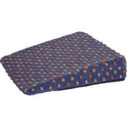 Linke Licardo Keilkissen Punkte, aus reiner Schurwolle blau Sitzkissen Kissen