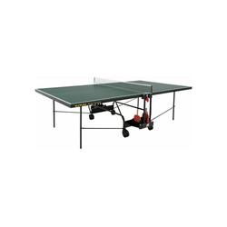 Sunflex Tischtennisplatte Sport Indoor mit Tischtennisnetz grün