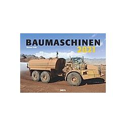 Baumaschinen 2021 - Kalender
