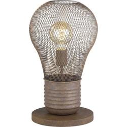Fischer & Honsel Birne 50072 Tischlampe E27 Rost