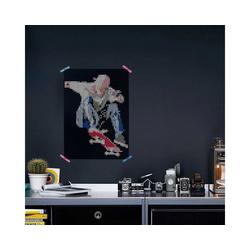 Dot On Malvorlage dot on art - skater, 50 x 70 cm