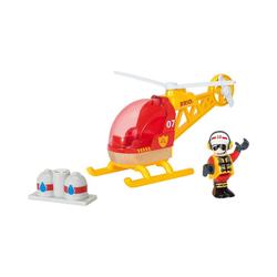 BRIO® Spielzeug-Eisenbahn Feuerwehr-Hubschrauber
