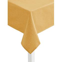 Tischdecke gelb oval - 140 cm x 190 cm