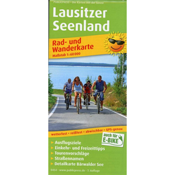 Lausitzer Seenland 1:60 000