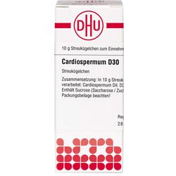 CARDIOSPERMUM D 30 Globuli 10 g