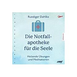 Die Notfallapotheke für die Seele  1 MP3-CD - Hörbuch