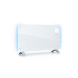 Klarstein Konvektor Bornholm Curved Ambient Konvektionsheizgerät 1000/2000W weiß weiß 82 cm x 10.5 cm