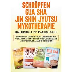 Schröpfen   Gua Sha   Jin Shin Jyutsu   Mykotherapie: Das große 4 in 1 Praxis-Buch! Erfahren Sie ganzheitliche Gesundheit mit vier alternativen He...