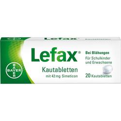 LEFAX Kautabletten 20 St.