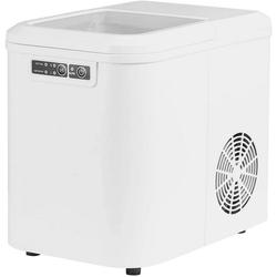 Woltu Eiswürfelmaschine, Eiswürfelmaschine mit 2 Eiswürfelgrößen 2,2 Liter 120W ABS