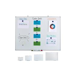 relaxdays Magnettafel Whiteboard magnetisch 120 cm x 7 cm x 90 cm