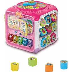 Vtech® Lernspielzeug Spielwürfel, Entdeckerwürfel, pink
