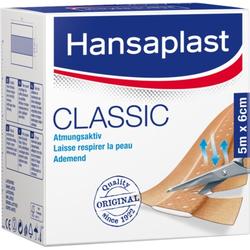 Hansaplast CLASSIC Atmungsaktiv Pflaster 6cm x 5m