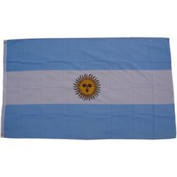 XXL Flagge Argentinien 250 x 150 cm Fahne mit 3 Ösen 100g/m² Stoffgewicht