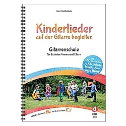 Kinderlieder auf der Gitarre begleiten  m. MP3-CD. Anne Hoeltzenbein  - Buch