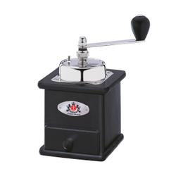 Zassenhaus Brasilia Kaffeemühle, Buche, Bohnenmühle im nostalgischem Design, Maße ( L x B x H): 12,5 x 12 x 20 cm, schwarz