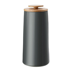 Stelton Kaffeedose Emma Grau Ø 10.8cm, Steinzeug, (1-tlg)