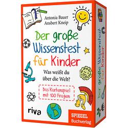 Der große Wissenstest für Kinder Kartenspiel
