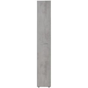 Apothekerschrank, 1-türig ¦ grau » Möbel Kraft