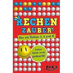 Rechenzauber - Übe die Reihen 2  4 und 8! (Kartenspiel)