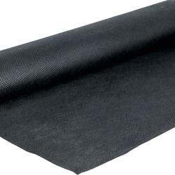 planeo Unkrautvlies Schwarz - 16m² - Schutz vor Unkraut unter der Terrasse