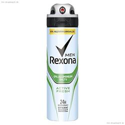 Rexona Men Active Fresh ohne Aluminiumsalze Deodorant Spray 150 ml