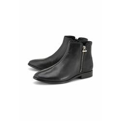 Ankle-Boots Zipper-Stiefelette COX schwarz