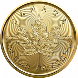 1/10 Unze Gold Maple Leaf 2021
