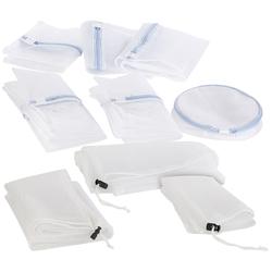 Wäschenetze für schonende Waschmaschinen-Wäsche, 9er-Set, 7 Größen