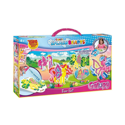 CRAZE Bastelperlen Splash Beadys Fun Set - Galupy