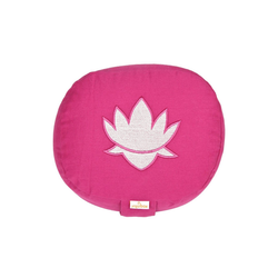 yogabox Yogakissen oval Lotus Stick BASIC rosa