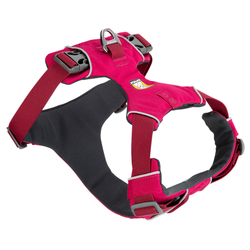 Ruffwear Hundegeschirr Front Range™ Harness pink, Breite: ca. 2 cm, Brustumfang: ca. 33 - 43 cm