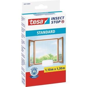 TESA Insect Stop Standard 55671-20-03 Fliegengitter (L x B) 1100mm x 1300mm Weiß 1St.