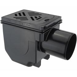KESSEL Kellerablauf - DN100 - Rost 150 x 190 mm - 33101