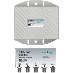 Axing SPU 41-02 DiSEqC-Schalter 5 (4 SAT/1 terrestrisch) 1