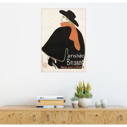 Posterlounge Wandbild, Aristide Bruant dans son cabaret 100 cm x 130 cm