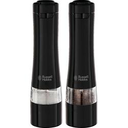 RUSSELL HOBBS Salz-/Pfeffermühle Salz- & Pfeffermühlen elektrisch, (2 Stück)