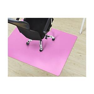 Bodenschutzmatte Floordirekt Pro Hartböden Pink Polypropylen 1200 x 1500 mm