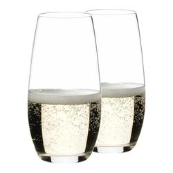 RIEDEL Glas Gläser-Set O Champagner 2er Set, Kristallglas
