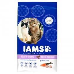 Iams Multi-Cat Lachs & Huhn Katzenfutter  15 kg