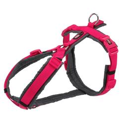 TRIXIE Hunde-Geschirr Premium Trekking Geschirr, Nylon rosa M - 53 cm - 64 cm