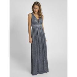 Apart Abendkleid in Empire Stil blau 38