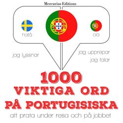 1000 viktiga ord på portugisiska als Hörbuch Download von JM Gardner