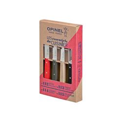 Opinel Messer-Set Opinel Küchenmesser-Set LES ESSENTIELS Loft, 4-tlg (4-tlg)