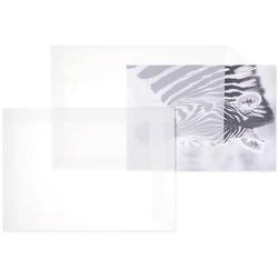 Versandtaschen Offset transparent B4 100g/qm HK VE=100 Stück weiß