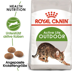 ROYAL CANIN OUTDOOR Katzenfutter trocken für Freigänger 4 kg
