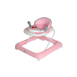 Clamaro Lauflernhilfe, Gehfrei Lauflernhilfe Baby Walker Babywippe Gehhilfe, 6-18 Monate Clamaro rosa
