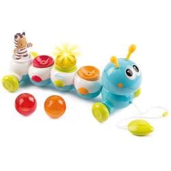 Smoby Lernspielzeug Cotoons elektronische Raupe bunt Kinder Activity Center Trapeze Baby Kleinkind